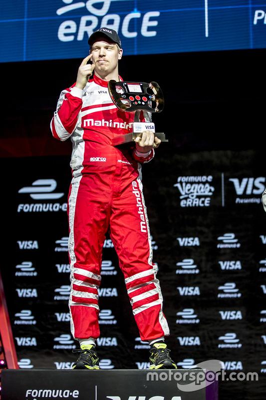 Winnaar, Olli Pahkala, Mahindra Racing
