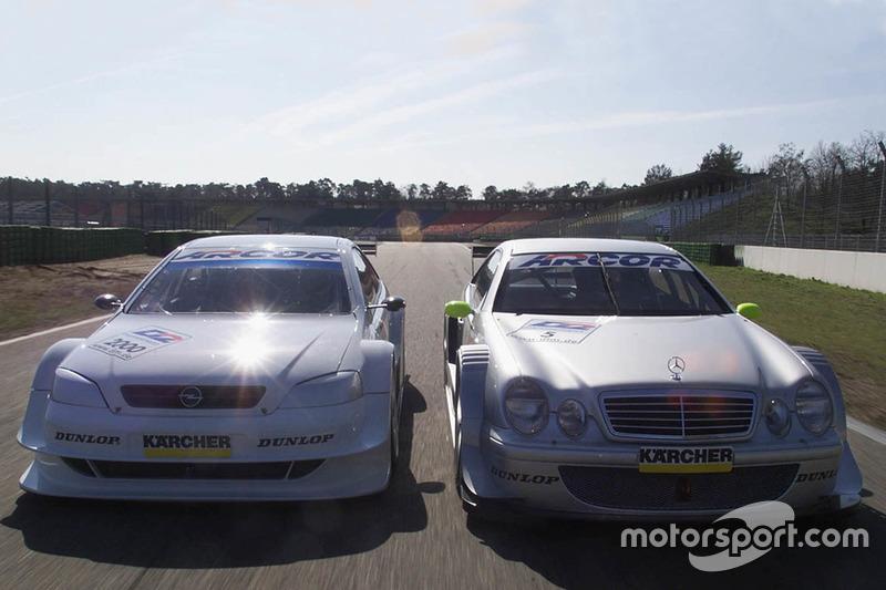 Mercedes-Benz CLK, Bernd Schneider, HWA AG ve Opel Astra V8 Coupe, Joachim Winkelhock