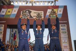 #505 Team Kamaz Master: Eduard Nikolaev, Evgeny Yakovlev, Vladimir Rybakov
