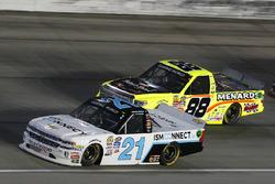 Johnny Sauter, GMS Racing Chevrolet and Matt Crafton, ThorSport Racing Toyota