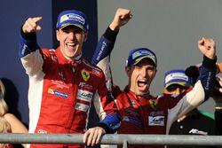LMGTE Pro podium: winners James Calado, Alessandro Pier Guidi, AF Corse