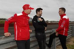 Alex Prema, Trent Cotchin ve Scott McLaughlin, DJR Team Penske