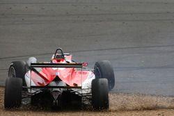 Callum Ilott, Prema Powerteam, Dallara F317 - Mercedes-Benz, testacoda