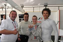 F1 Experiences, Doppelsitzer-Fahrer: Paul Stoddart, Zsolt Baumgartner,Patrick Friesacher und Passagier