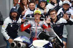 Il terzo classificato Fabio Di Giannantonio, Del Conca Gresini Racing Moto3