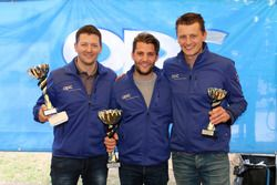 Marcel Muzzarelli, Thierry Kilchenmann, Roland Schmid, podium Rennen 2