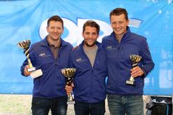 Marcel Muzzarelli, Thierry Kilchenmann, Roland Schmid, podium Course 2