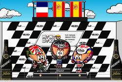 El GP de Francia 2017 de MotoGP según MiniBikers
