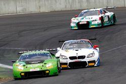 #19 GRT Grasser Racing Team, Lamborghini Huracán GT3: Ezequiel Perez Companc, Mirko Bortolotti; #42