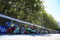 The cars of the Team ABT Schaeffler Audi Sport