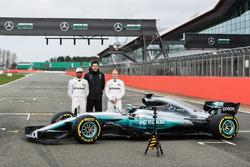 Льюіс Хемілтон, Валттері Боттас, Mercedes AMG F1, керівник Mercedes AMG F1 Тото Фольфф