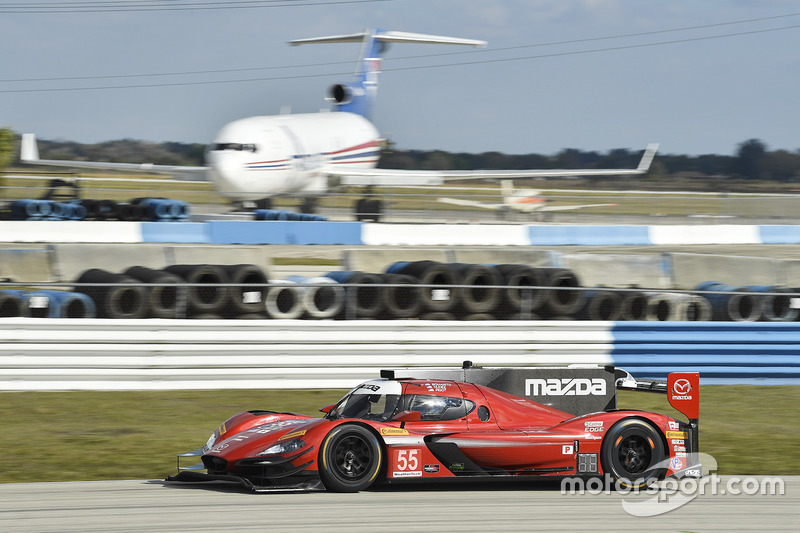 8. P: #55 Mazda Motorsports, Mazda DPi