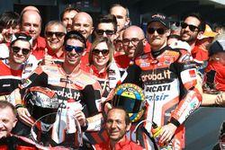 Troisième place pour Marco Melandri, Ducati Team