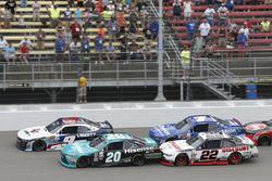 Denny Hamlin, Joe Gibbs Racing Toyota William Byron, JR Motorsports Chevrolet Brad Keselowski, Team