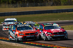 Will Davison, Tekno Autosports Holden, Nick Percat, Brad Jones Racing Holden
