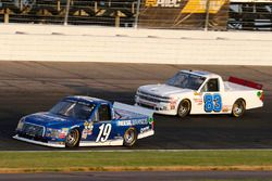 Austin Cindric, Brad Keselowski Racing Ford and Camden Murphy, Chase & Hamlyn, Inc. Chevrolet Silver