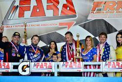 Lawrence Loshak, Gar Robinson, Ginetta USA, William Hubbell, Dennis Trebing, Hubbell Racing