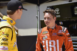 Christopher Bell, Kyle Busch Motorsports Toyota and Todd Gilliland, Kyle Busch Motorsports Toyota