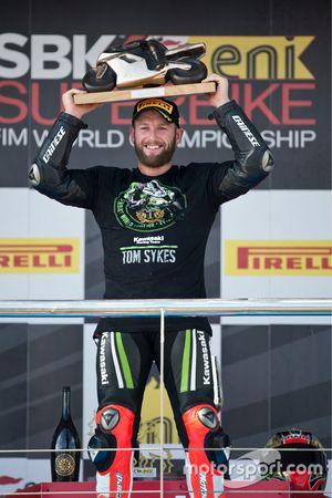 Tom Sykes, Kawasaki Racing, yarış galibi Jerez, 2013