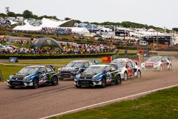 Johan Kristoffersson, Volkswagen Team Sweden, Petter Solberg, PSRX Volkswagen Sweden VW Polo Gti
