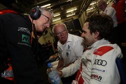 Wolfgang Land and #29 Audi Sport Team Land-Motorsport, Audi R8 LMS: Markus Winkelhock
