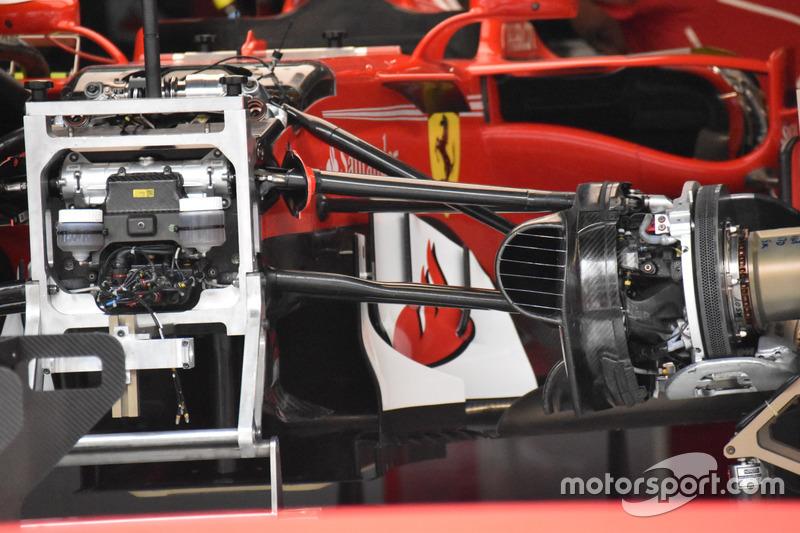 Ferrari SF70H, sospensione anteriore
