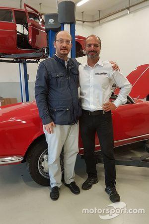 Gabriele Testi und Dario Pergolini
