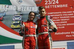 Podio Radical SR4, Gara 1: Simone Patrinicola, Ida Petrillo