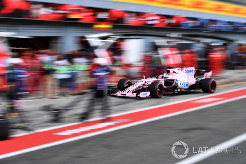 8 місце — Серхіо Перес, Force India — 97