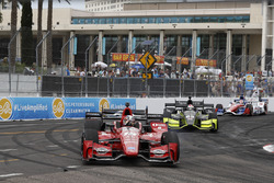 Graham Rahal, Rahal Letterman Lanigan Racing Honda, Charlie Kimball, Chip Ganassi Racing Honda
