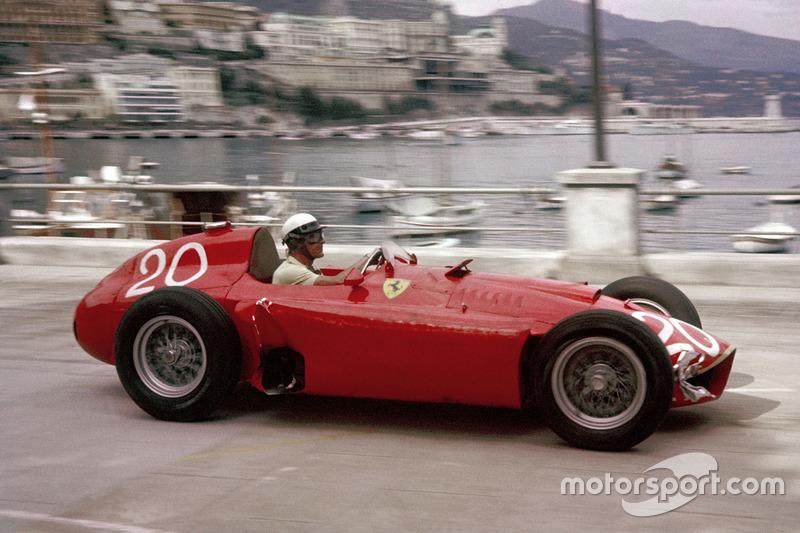 لانسيا-فيراري دي50: 1956-1957
