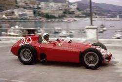 Eugenio Castellotti, Lancia-Ferrari D50, shared with Juan Manuel Fangio