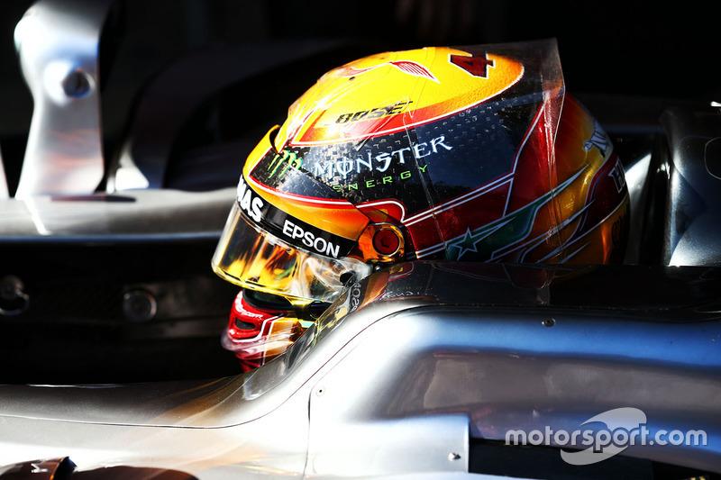 Vendredi : Lewis Hamilton, Mercedes AMG F1 W08