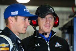 Keith Rodden and Kasey Kahne, Hendrick Motorsports Chevrolet