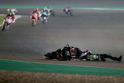 Johann Zarco, Monster Yamaha Tech 3 crash