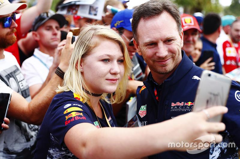 Christian Horner, director de Red Bull team