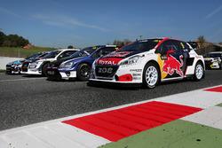 De wagen van Sebastien Loeb, Team Peugeot-Hansen, Peugeot 208 WRX