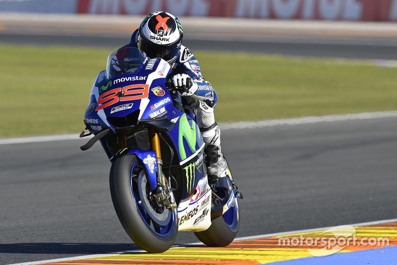 Valencia, Valencia: Jorge Lorenzo (Yamaha)