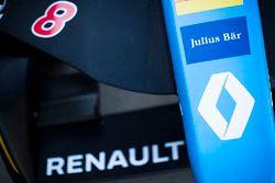 Le museau de la Renault e.Dams