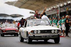 Romain Grosjean, Haas F1 Team, pilotlar geçit töreni