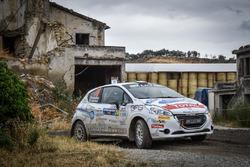 Nicola Manfredi, Jasmine Manfredi, Peugeot 208 R2B Maranello Corse ASD