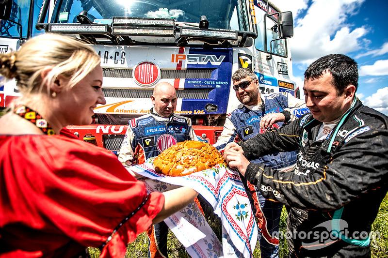#311 TATRA BUGGYRA Racing: Martin Kolomy, Jiri Stross, Michal Ernst and Dariusz Rodewald, Team De Ro