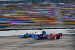 Scott Dixon, Chip Ganassi Racing Honda Alexander Rossi, Herta - Andretti Autosport Honda