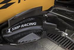 Renault Sport F1 Team RS17 aero detail