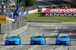 Nicky Catsburg, Polestar Cyan Racing, Volvo S60 Polestar TC1, Nestor Girolami, Polestar Cyan Racing,