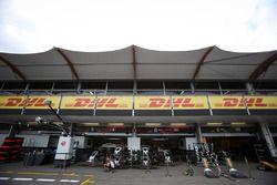 Haas garaje