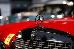 Mercedes vintage car detail