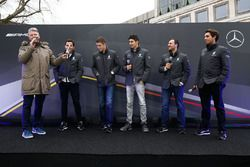 I piloti Mercedes