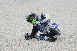 Eugene Laverty, Aspar MotoGP Team crash