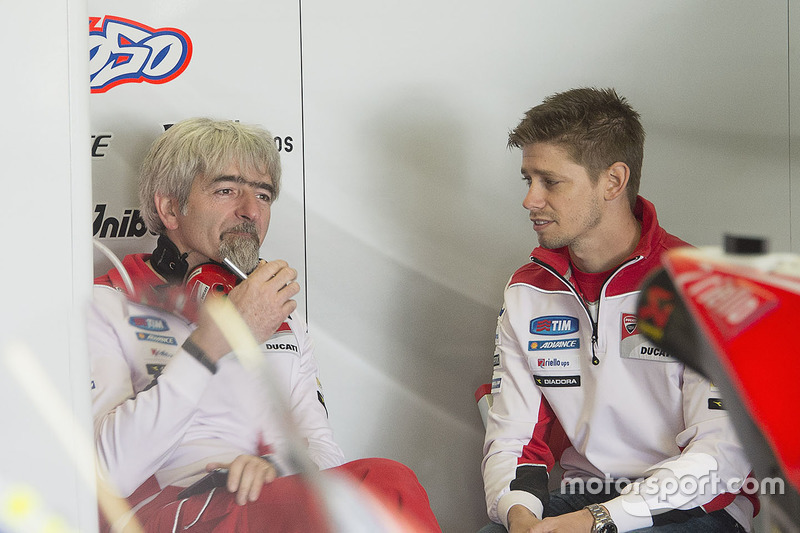 Casey Stoner Ducati Team With Gigi Dalligna Ducati Corse General
